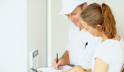 An Energy Advisor helps homeowners save money